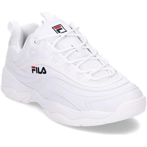 detailed look b9230 ba7a2 Zapatos Hombre Zapatillas bajas Fila Ray Blanco