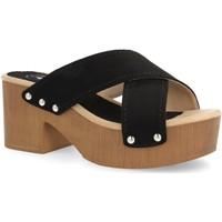 Zapatos Mujer Sandalias Laik Y5579 Negro