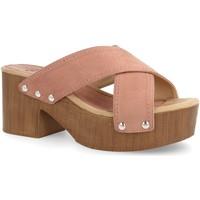 Zapatos Mujer Sandalias Laik Y5579 Rosa