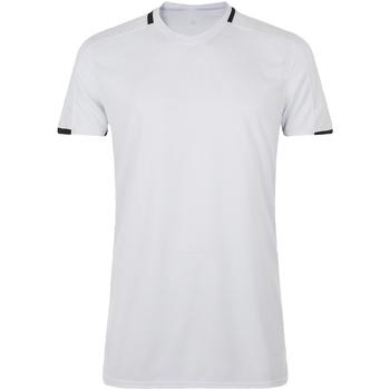 textil Hombre Camisetas manga corta Sols CLASSICO SPORT Blanco
