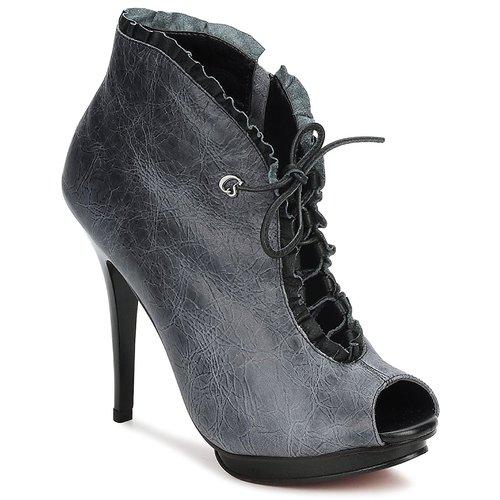 Zapatos casuales salvajes Zapatos especiales Carmen Steffens 6002043001 Negro / Gris
