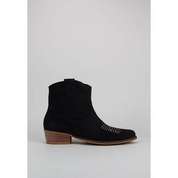 Zapatos Mujer Botines Bryan CALIOPE BORDADO Negro