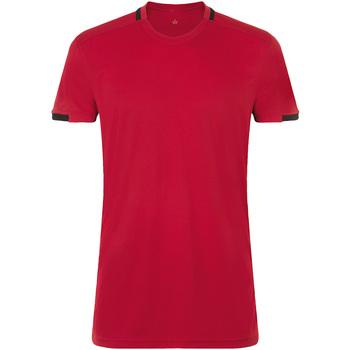 textil Hombre Camisetas manga corta Sols CLASSICO SPORT Rojo