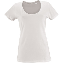 textil Mujer camisetas manga corta Sols METROPOLITAN CITY GIRL Blanco