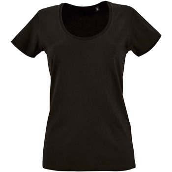 textil Mujer camisetas manga corta Sols METROPOLITAN Negro