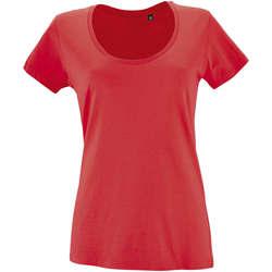 textil Mujer camisetas manga corta Sols METROPOLITAN Rojo