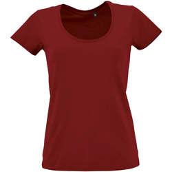 textil Mujer Camisetas manga corta Sols METROPOLITAN CITY GIRL Rojo