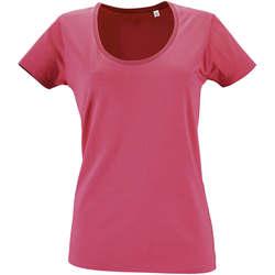 textil Mujer camisetas manga corta Sols METROPOLITAN CITY GIRL Rosa