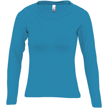 textil Mujer Camisetas manga larga Sols MAJESTIC Azul