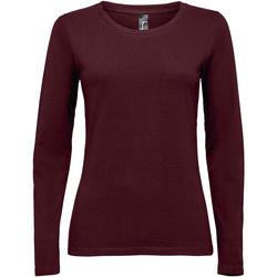 textil Mujer Camisetas manga larga Sols MAJESTIC violeta