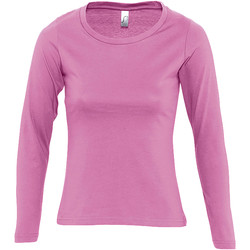 textil Mujer Camisetas manga larga Sols MAJESTIC COLORS GIRL Rosa