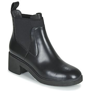 Zapatos Mujer Botas de caña baja Camper WONDER CHELSEA Negro
