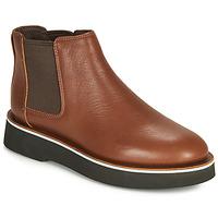 Zapatos Mujer Botas de caña baja Camper TYRA chelsea Medium / Brown