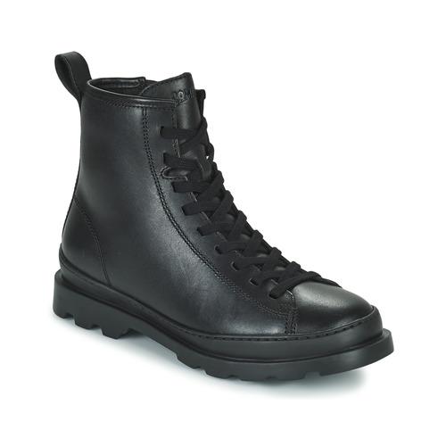 Zapatos Mujer Botas de caña baja Camper BRUTUS Negro