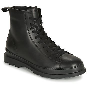 Zapatos Hombre Botas de caña baja Camper BRUTUS Negro