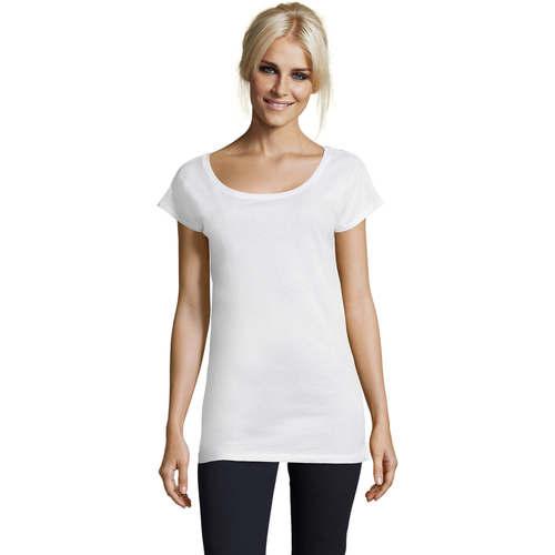 Sols MARYLIN Blanco - Envío gratis | ! - textil camisetas manga corta Mujer