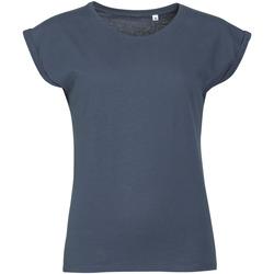 textil Mujer Camisetas manga corta Sols MELBA TROPICAL GIRL Azul