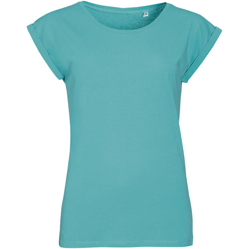 Sols MELBA Azul - Envío gratis   ! - textil camisetas manga corta Mujer
