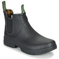 Zapatos Hombre Botas de agua Barbour FURY CHELSEA Negro