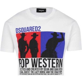 textil Hombre camisetas manga corta Dsquared T-Shirts S71GD0720 blanco