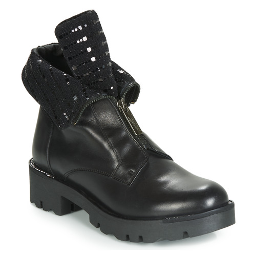 Botas Blu Negro Caña Baja Zapatos Diane Tosca Mujer De fYbvmIgy67