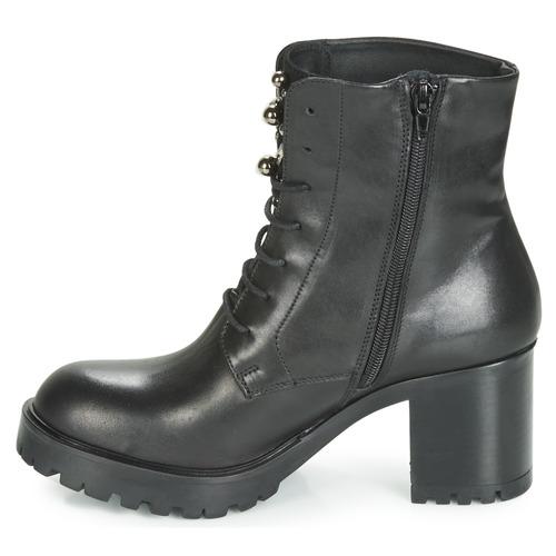 Botines Tosca Kate Zapatos Mujer Negro Blu ZXwOiuTPkl