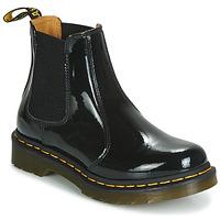Zapatos Mujer Botas de caña baja Dr Martens 2976 PATENT LAMPER Negro