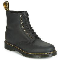 Zapatos Hombre Botas de caña baja Dr Martens 1460 PASCAL Negro