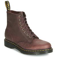 Zapatos Hombre Botas de caña baja Dr Martens 1460 PASCAL Marrón