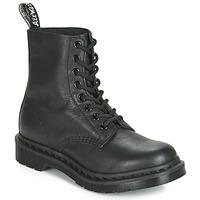 Zapatos Mujer Botas de caña baja Dr Martens 1460 PASCAL MONO Negro