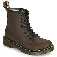 Zapatos Niños Botas de caña baja Dr Martens 1460 SERENA JUNIOR Marrón