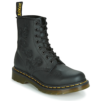 Zapatos Mujer Botas de caña baja Dr Martens 1460 VONDA MONO SOFTY T Negro