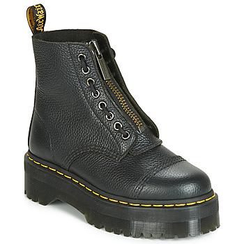 Zapatos Mujer Botas de caña baja Dr Martens SINCLAIR AUNT SALLY Negro