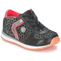 Zapatos Niña Botas de caña baja Catimini CISTUDE Ctv / Negro-fucsia  / Dpf / 2637