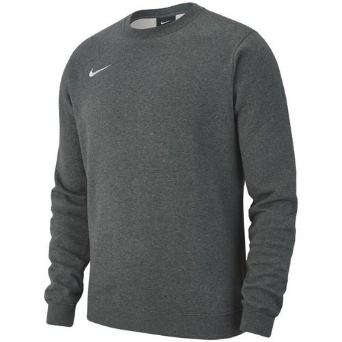 textil Hombre sudaderas Nike Team Club 19 Crew Fleece Gris