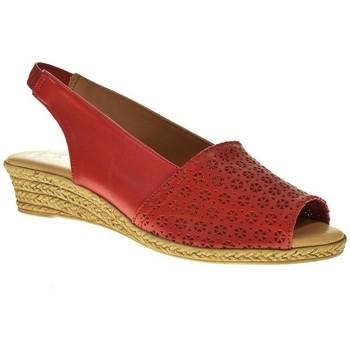 Zapatos Mujer Sandalias Duendy 602B Rojo