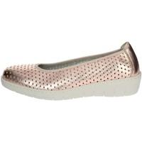 Zapatos Mujer Bailarinas-manoletinas Notton 2929 Rosa polvo