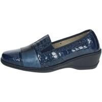 Zapatos Mujer Mocasín Notton 2298 Azul