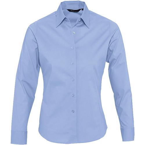 Sols EDEN Azul - Envío gratis | ! - textil camisas Mujer