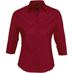 textil Mujer camisas Sols EFFECT ELEGANT Rojo