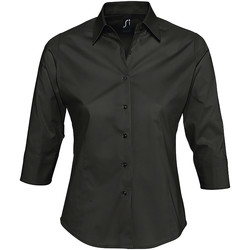 textil Mujer camisas Sols EFFECT Negro
