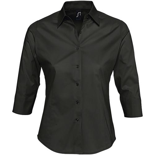 Sols EFFECT Negro - Envío gratis | ! - textil camisas Mujer