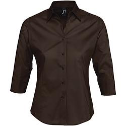 textil Mujer Camisas Sols EFFECT ELEGANT Marr?n