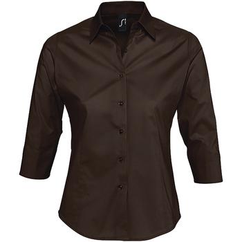 textil Mujer camisas Sols EFFECT Marrón