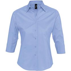 textil Mujer camisas Sols EFFECT ELEGANT Azul