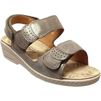 Zapatos Mujer Sandalias Mobils By Mephisto Roselie sp Cuero topo