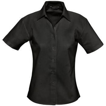 textil Mujer camisas Sols ELITE Negro