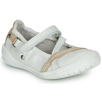 Zapatos Niña Bailarinas-manoletinas Ramdam BEZIERS Blanco