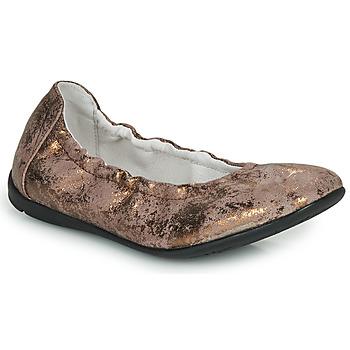 Zapatos Niña Bailarinas-manoletinas Ramdam LIBRE Bronce