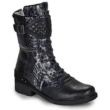 Zapatos Niña Botas urbanas Ikks KIMBERLEY Negro